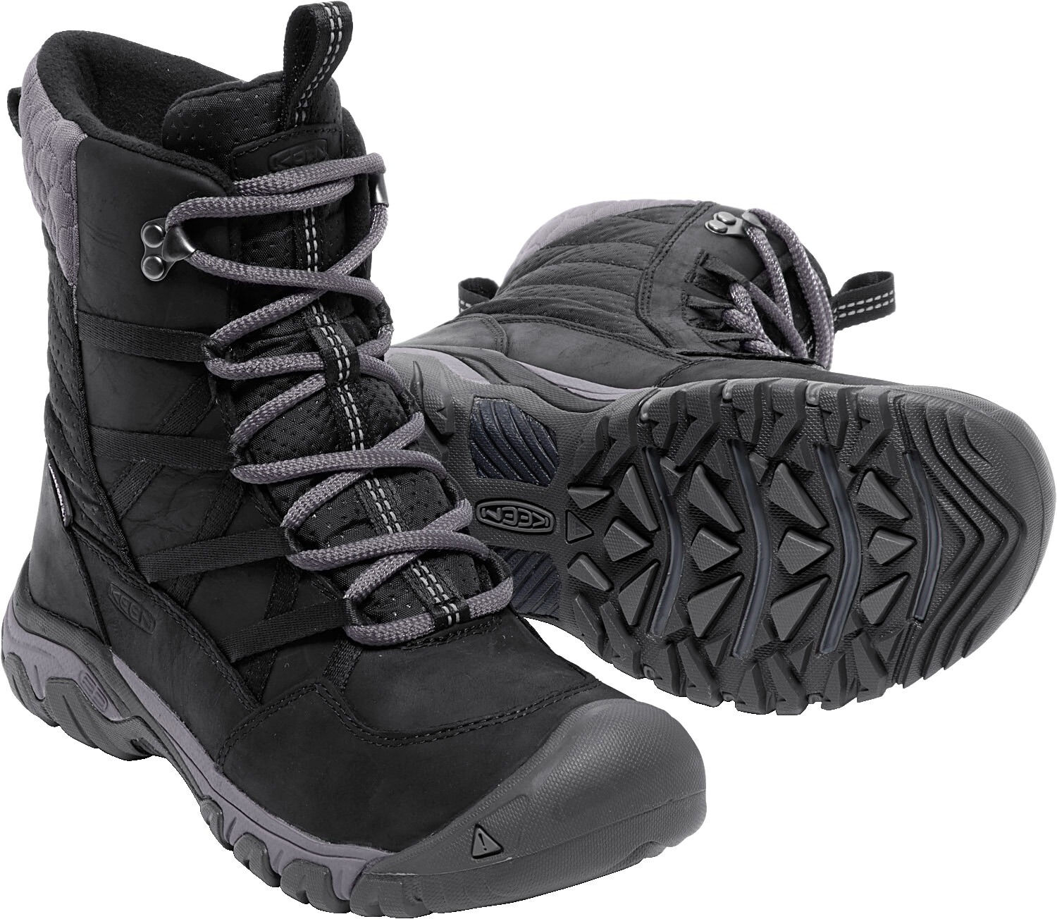 Keen Hoodoo III Lace Up Shoes Women black at Addnature.co.uk a0cdc0372a